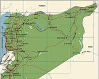Suriye'den harita krizi: