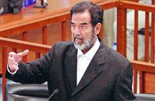 Saddam'ın treni sefere çıkıyor.13790