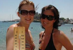 Dikkat! Yazın en sıcak günleri geliyor.9910