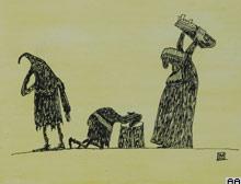 Karikat�r yar��mas�n�n 1'incisi Belarus'tan.8672