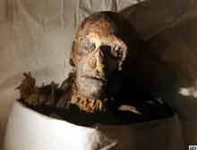 Mumya kadın firavun Hatşepsut'a ait.6141