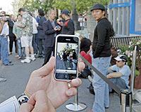 iPhone, üç günde yarım milyon adet sattı  .15331