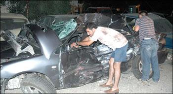 Bingöl'de zincirleme trafik kazası: 3 yaralı.20799