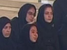 İranlı sporculara bile 'başörtüsü yasağı' uygulandı.7338