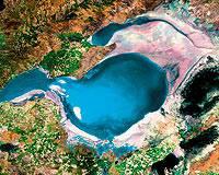 Tuz Gölü küçülüyor.13504