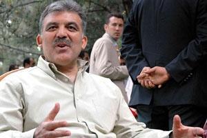 Bakan Abdullah Gül'e sordular: Aday olacak mısınız?.13044