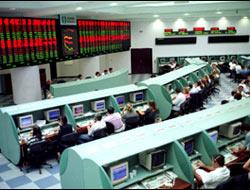 Borsa düşüşle kapandı .19689