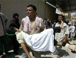 Bağdat'ta şiddet dinmiyor .22546