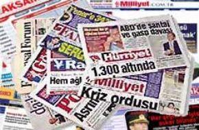 Ulusal gazetelerin manşetlerini buradan okuyabilirsiniz.21141