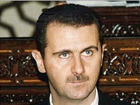 Beşar Esad kendi evinde gibi!.11070