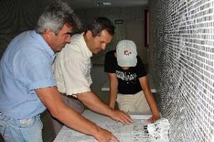 Konya'da oy sayma i�lemi s�r�yor.15100