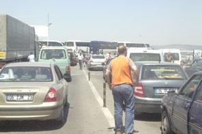 İstanbul'da trafik sıkışıklığına karşı tedbir alındı.10807