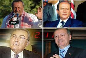 Siyaset liderleri çökertti.13058