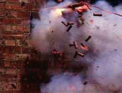 Kars'ta şiddetli patlama.18156