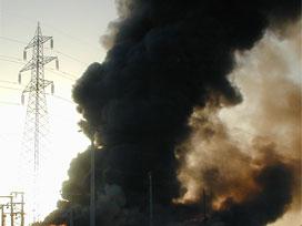 Irak'ta askeri üste patlama .10095