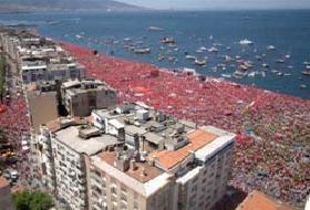 CHP İzmir'de sahile sıkıştı .14979
