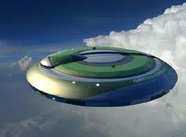 İki yolcu kapasiteli 'UFO'lar uçuşa hazırlanıyor.6287