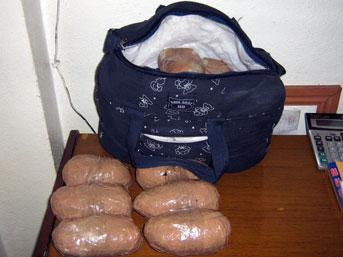 Van'da 77 kilogram eroin ele geçirildi  .26357