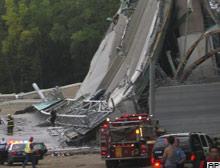 ABD'nin Mississippi eyaletinde, köprü çöktü: 7 ölü.13175