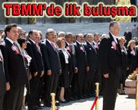 Meclis'te 23. dönem yapılan törenle resmen başladı.13570