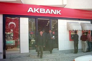 AKBANK 6 şubesine kilit vurdu.13197