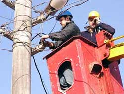Elektrik direğinden düşen işçi öldü.10751