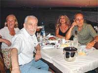 Çölaşan, Coşkun'la buluştuğu yemekte ilk kez konuştu.8895