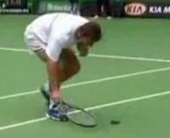 Tenis ma��nda �yle bir olay ger�ekle�ti ki...!.6335
