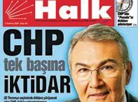 Seçim yenilgisi CHP'nin yayın organlarını da etkiledi.13304