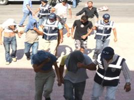 Suç örgütüne yönelik operasyon: 79 gözaltı.46264