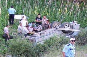 Bursa'da trafik kazası: 2 ölü, 2 yaralı.27098