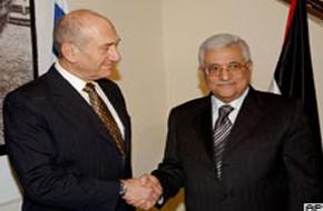 Olmert'ten Abbas'a söz.42586
