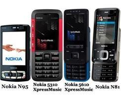 Nokia'dan dört yeni telefon.12479