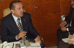 Erdoğan Yazıcıoğlu'yla görüştü .63327