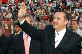 AK Parti kongresinde 'Atatürk posteri krizi' yaşandı.75399