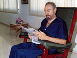 Fidel Castro, ekrana çıktı.12916