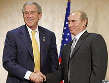 Bush Putin ile füze kalkanını görüştü .47775