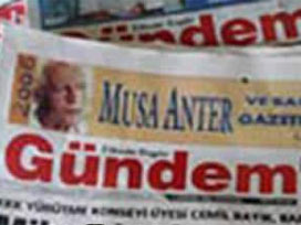 Gündem gazetesi bir ay kapatıldı.14250