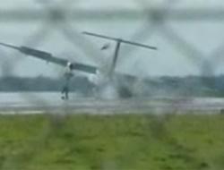 Polonya'da askeri nakliye uçağı düştü.13448