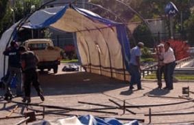Konak Belediyesi Kimse Yok mu'nun iftar çadırını kaldırttı!.13116