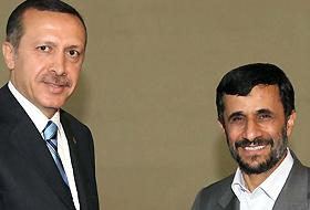 Ahmedinejad, Erdoğan'ı kabul etti.8378