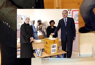Erdoğan, oyunu 'hayırlı olsun' diyerek kullandı.13857