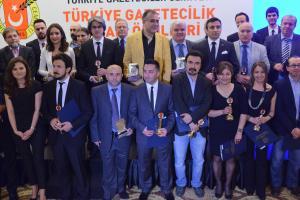 Türkiye Gazeteciler Cemiyeti ödülleri sahiplerini buldu.15985