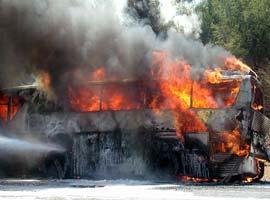 Rusya' da yolcu otobüsüne saldırı.10421