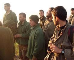 PKK tarafından kaçırılan 8 asker Diyarbakır'a getirildi.9909