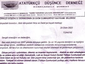 Sözde Atatürkçülerin mektubunda skandal cümleler!.20265