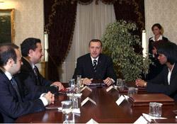 Erdoğan-Rice görüşmesi sona erdi.19482