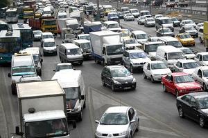 2007'de trafiğe çıkan araç sayısı azaldı.19483