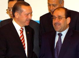 Irak Başbakanı Nuri el Maliki, Türk heyetini kabul etti.9998