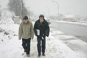 Tunceli-Pülümür Karayolu'na çığ düştü.20731
